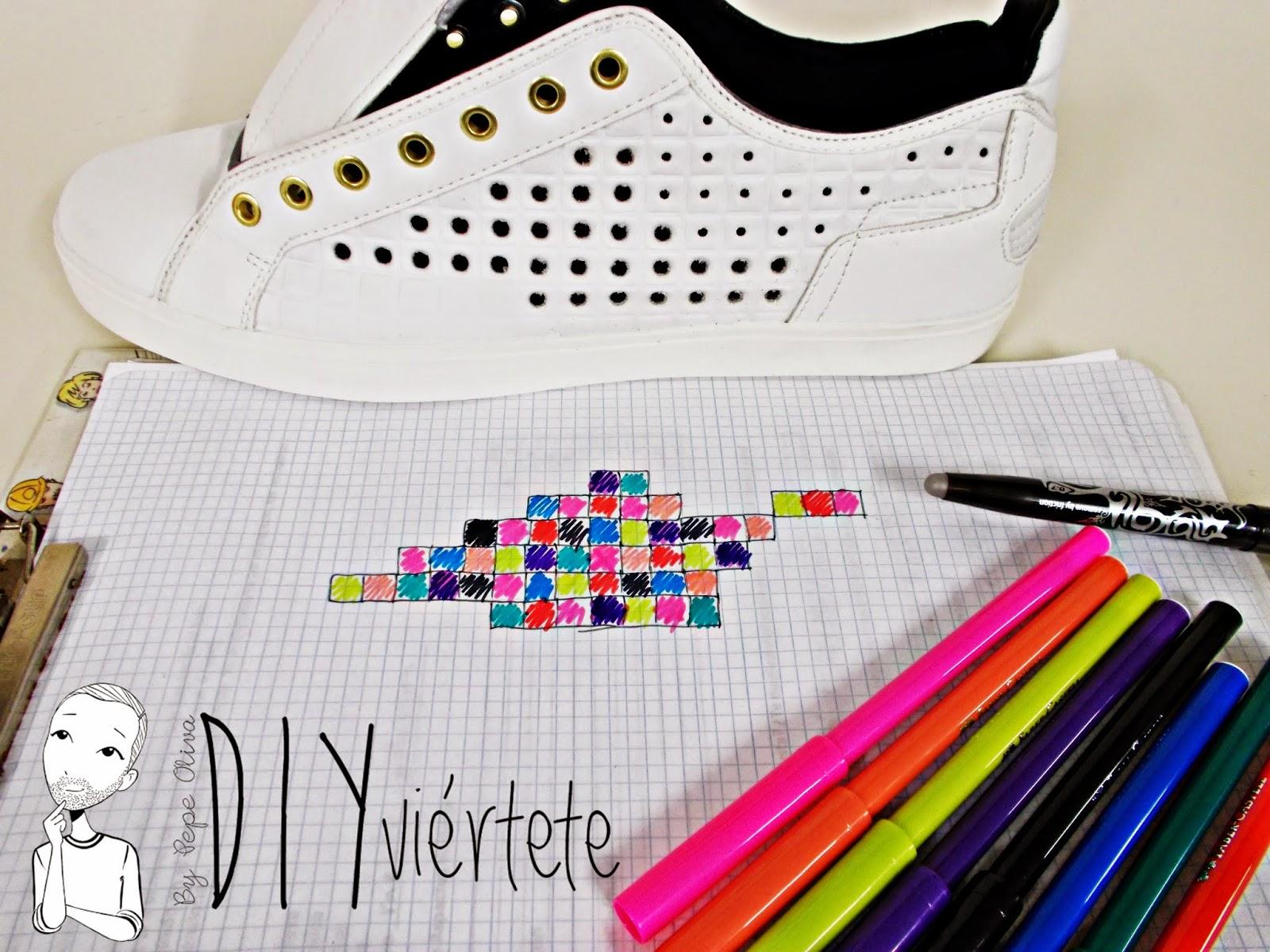 DIY-zapatillas-tunear-customizar-CHRISTIAN-LOUBOUTIN-zapatos-pinchos-esmaltes-pinta uñas-colores-9