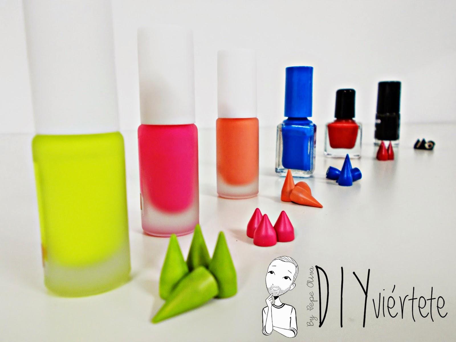 DIY-zapatillas-tunear-customizar-CHRISTIAN-LOUBOUTIN-zapatos-pinchos-esmaltes-pinta uñas-colores-6