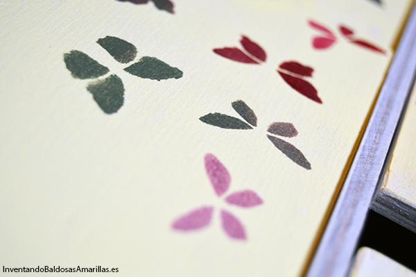 DIY stencil madera