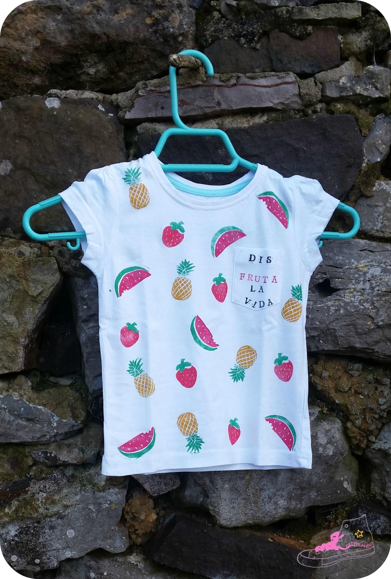 camiseta frutal