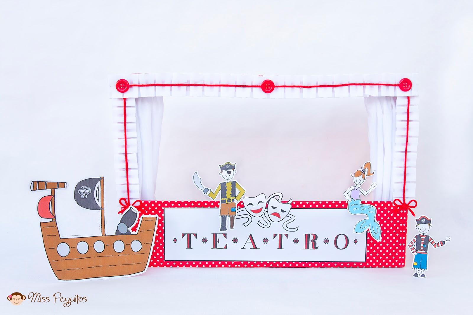 diy teatro casero diy theatre puppets
