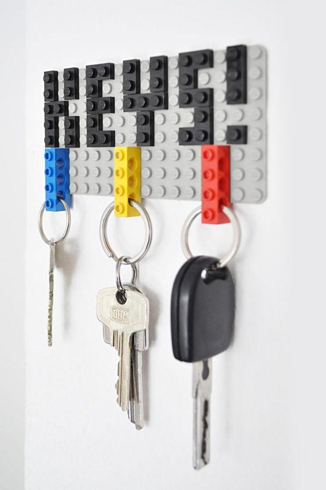 13 organizador llaves
