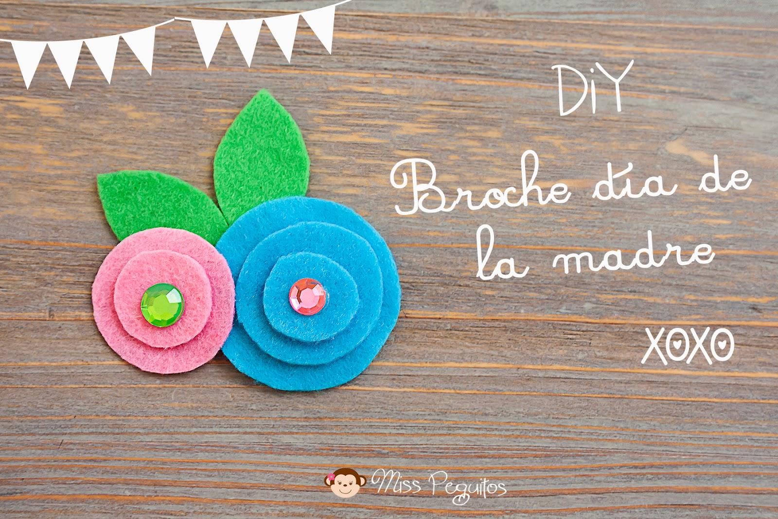 diy broche día de la madre Brooch mother day