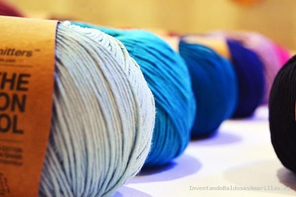 Lanas y algodón para tejer en casa