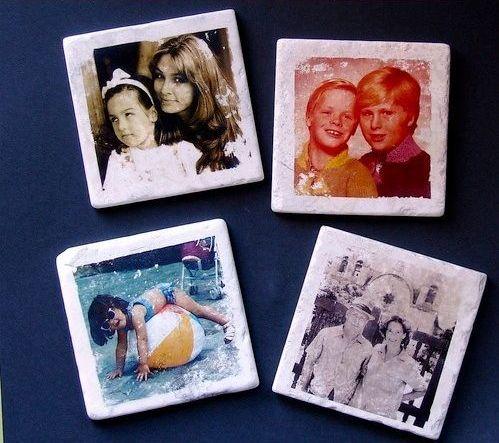 5 azulejos portafotos
