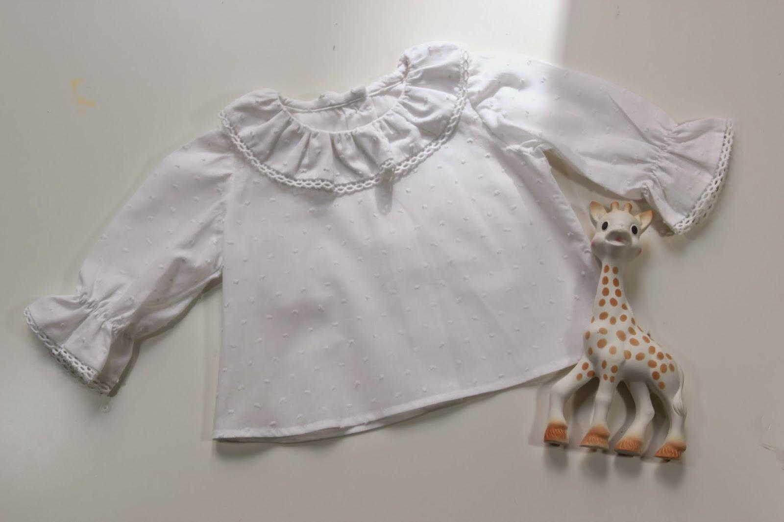 DIY Como hacer blusa para bebe (patrones gratis)