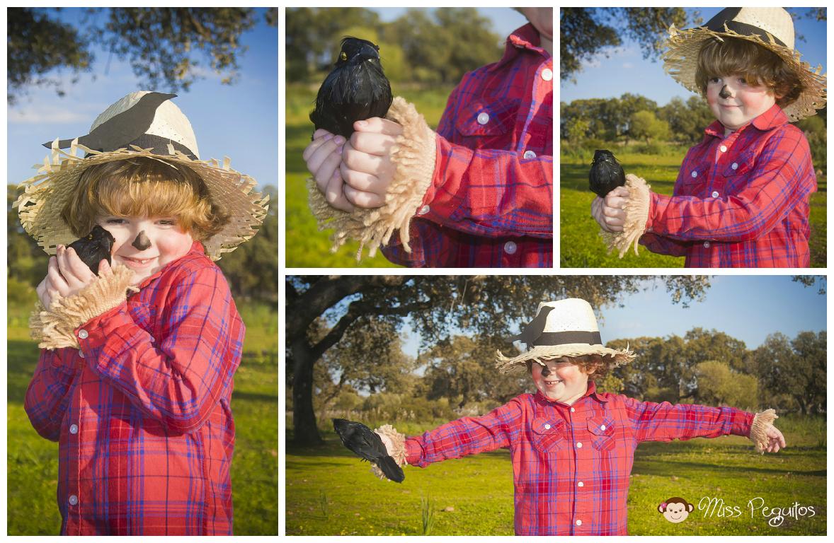 diy disfraz casero espantapajaros custome scarecrow