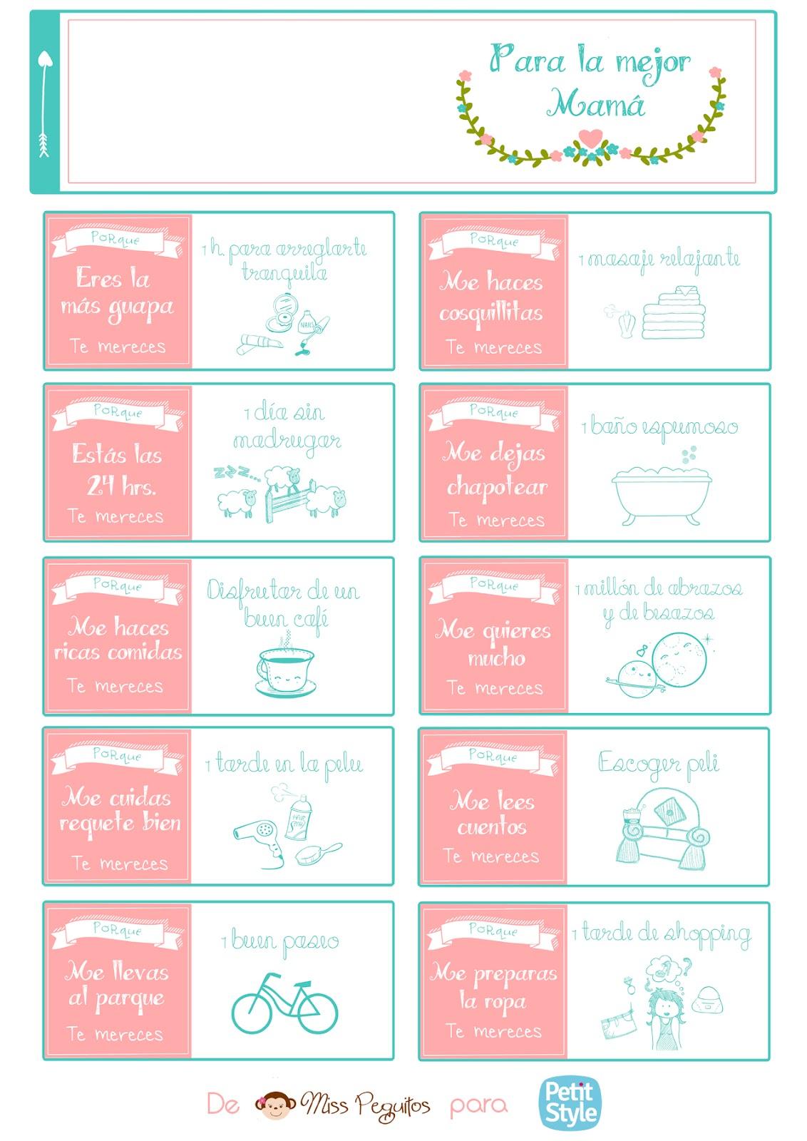 diy día de la madre imprimible gratis freebies free printable mother day