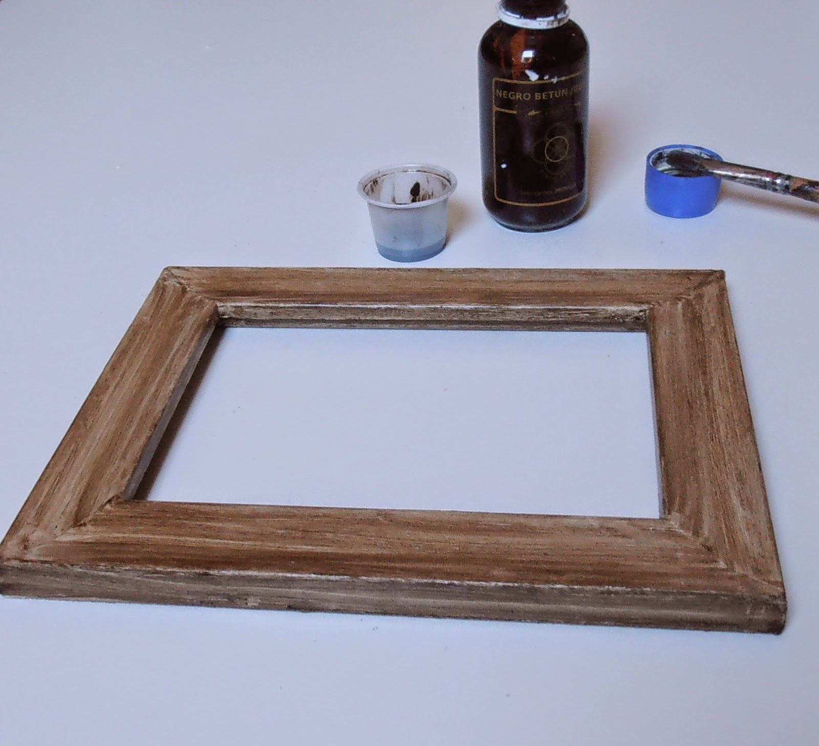 DIY nuevo uso para un marco de fotos - Handbox Craft Lovers ...