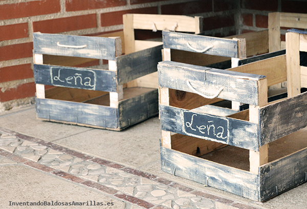 Decorar cajas de fruta de madera Handbox Craft Lovers Comunidad