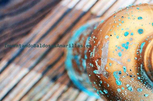 Botella oxidada