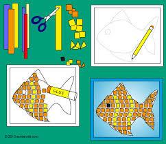 Resultado de imagen de mosaicos de papel