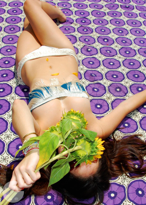 customizar un bikini con flecos