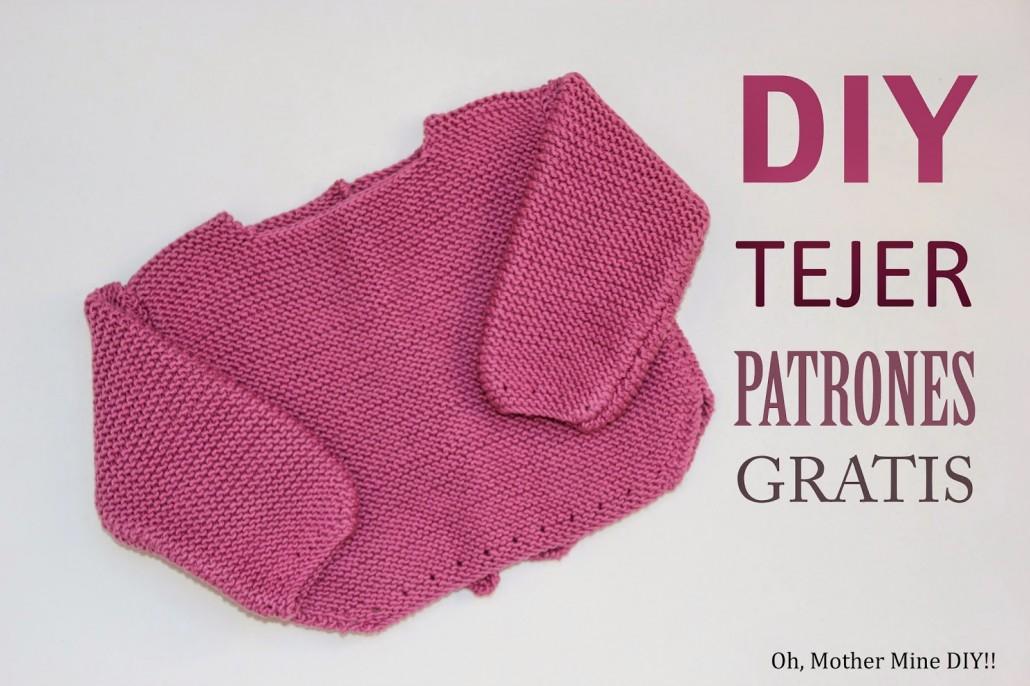 DIY Tejer un jersey de lana para bebé (patrones gratis) - Handbox ...