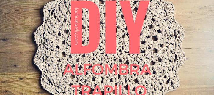 Cómo hacer una alfombra de trapillo redonda fácil (PATRÓN GRATIS ...