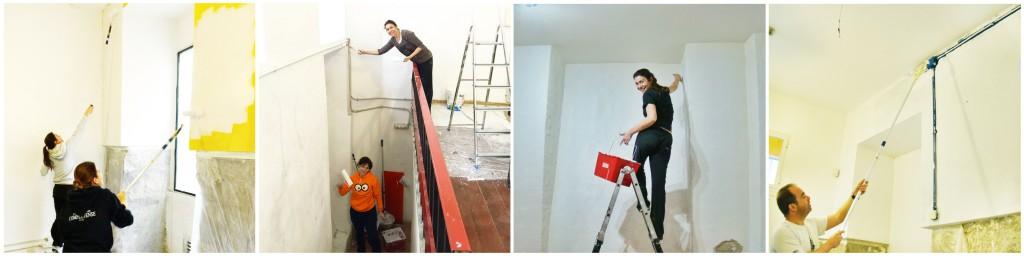 4 pintar paredes
