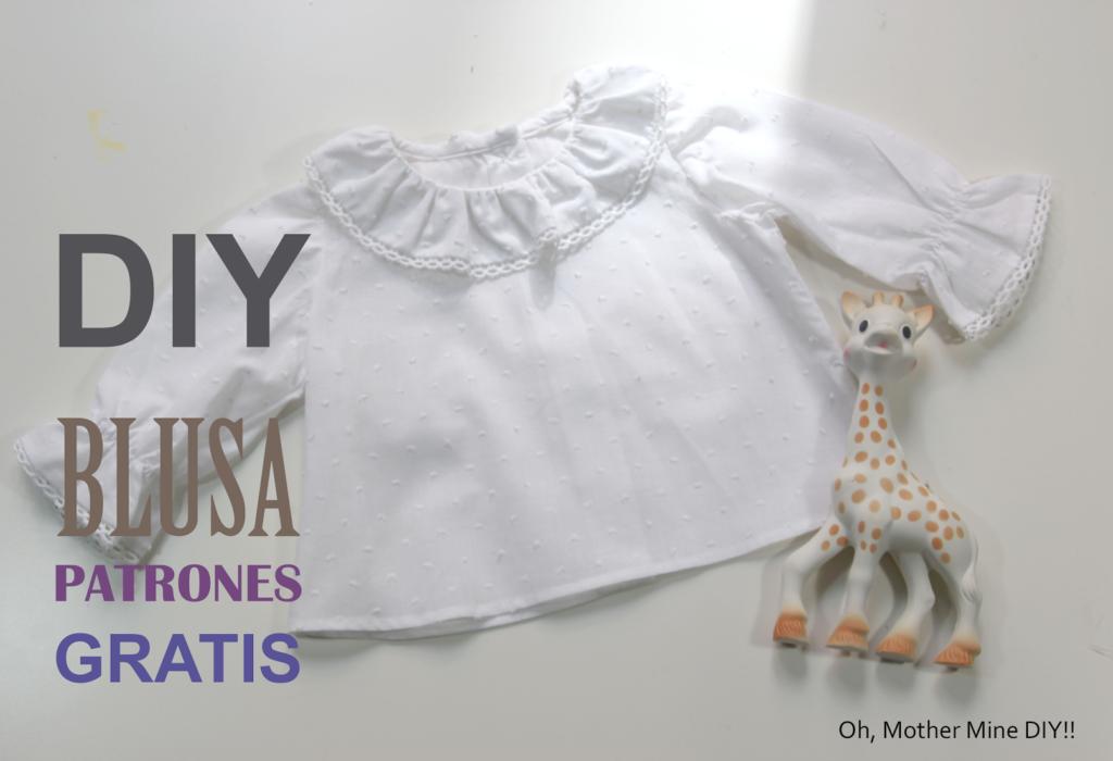 fbad0e0d3 DIY Como hacer blusa para bebe (patrones gratis) ...