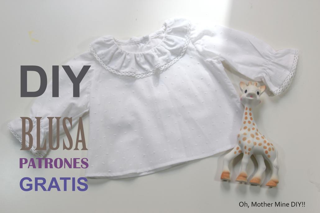 DIY Como hacer blusa para bebe (patrones gratis) - Handbox Craft ...