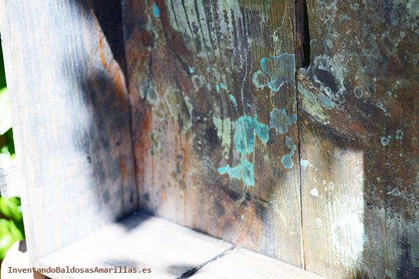 Oxidar madera