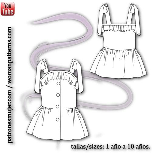 dibujo de vestido de lino-BLOG