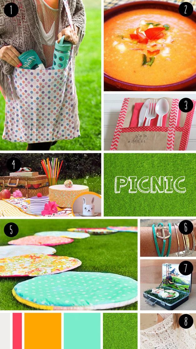 8 picnic DIY seen at
