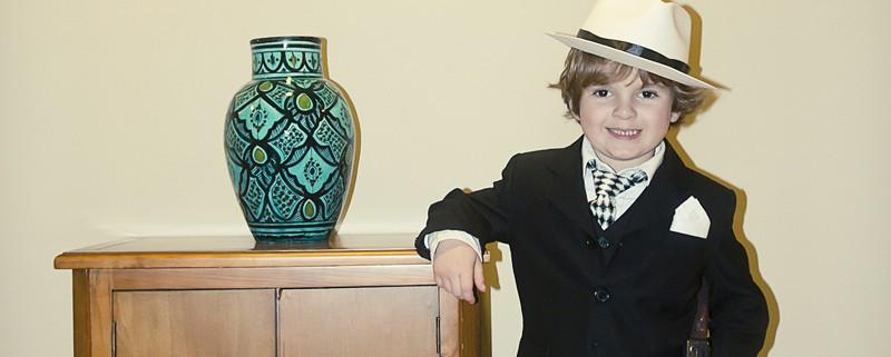 Disfraces caseros para niño: Gangster y Espantapájaros - Handbox ...
