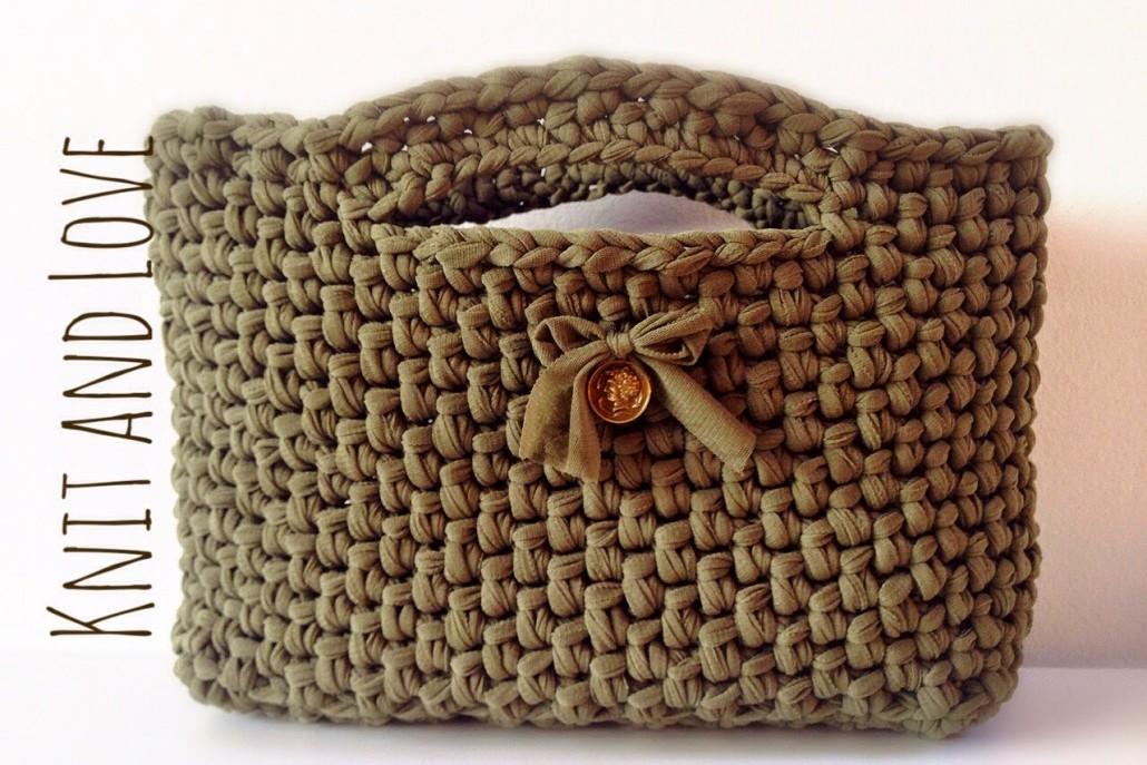 BOLSO DE FETTUCCIA A CROCHET CON ASAS - Handbox Craft Lovers ...