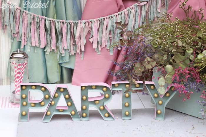 letras de carton para decorar fiesta