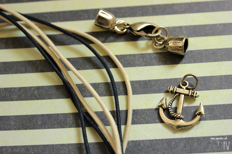 materiales para hacer pulsera marinera