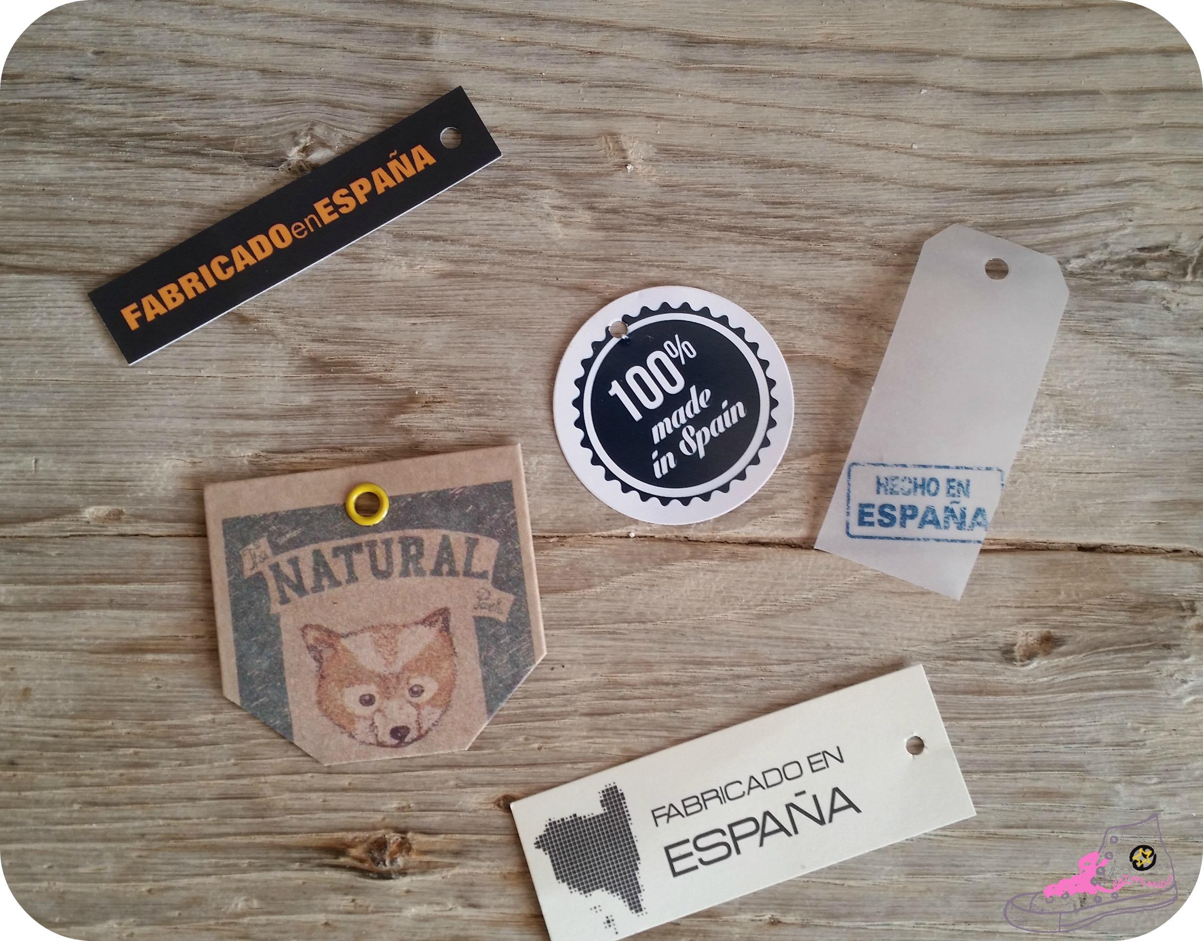 etiquetas made in spain