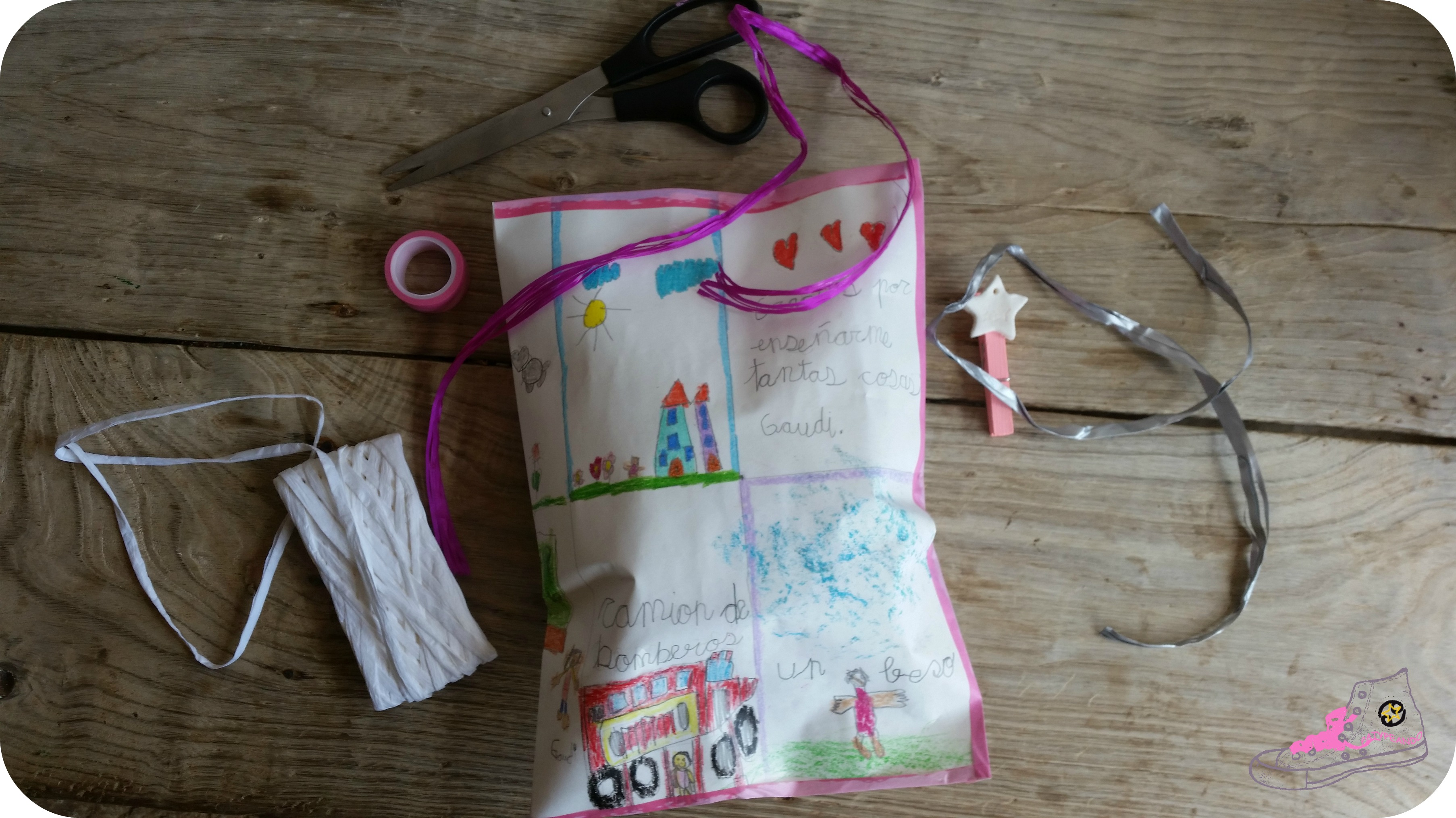 packaging con dibujo