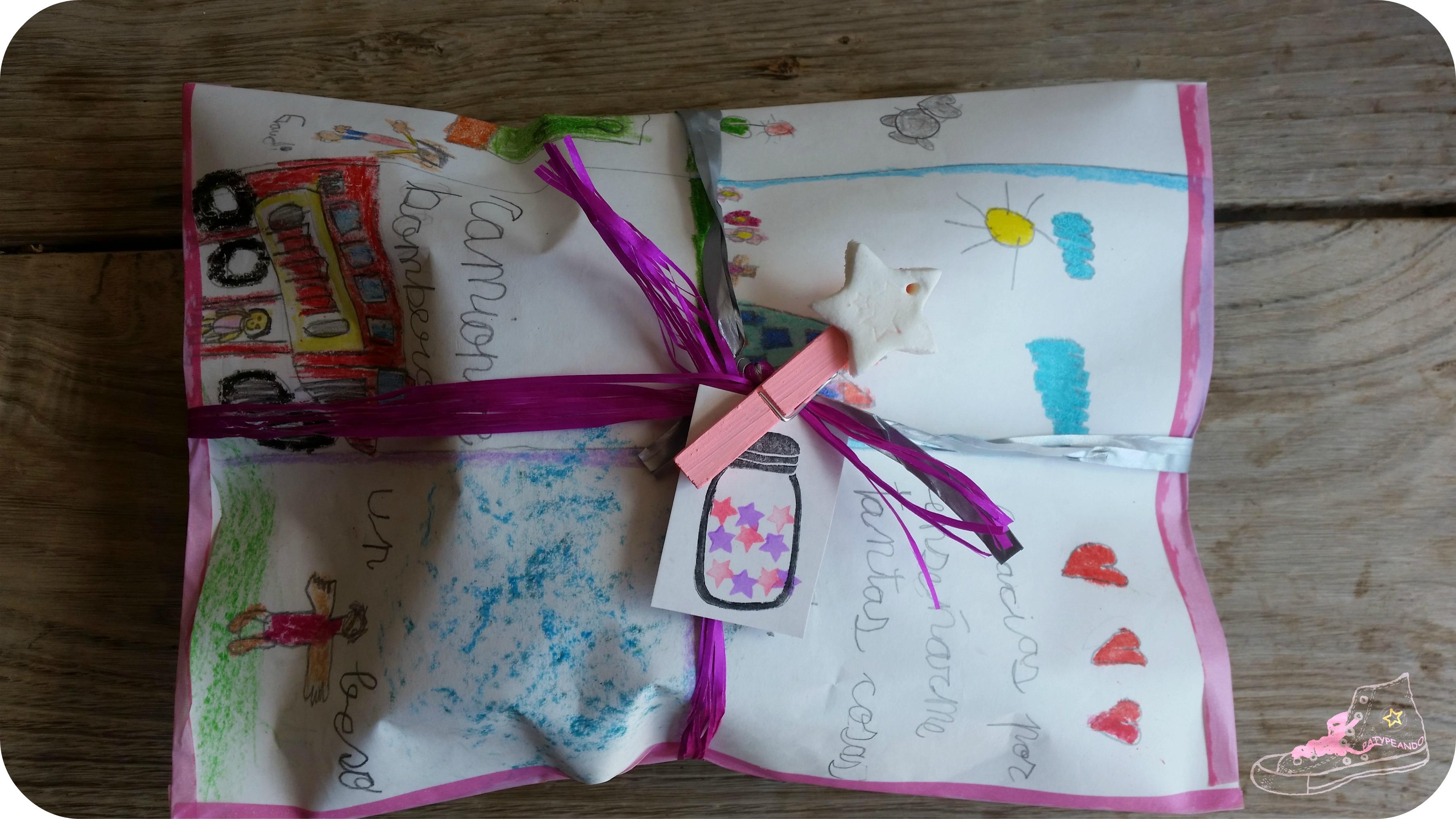 packaging con dibujo para una profe