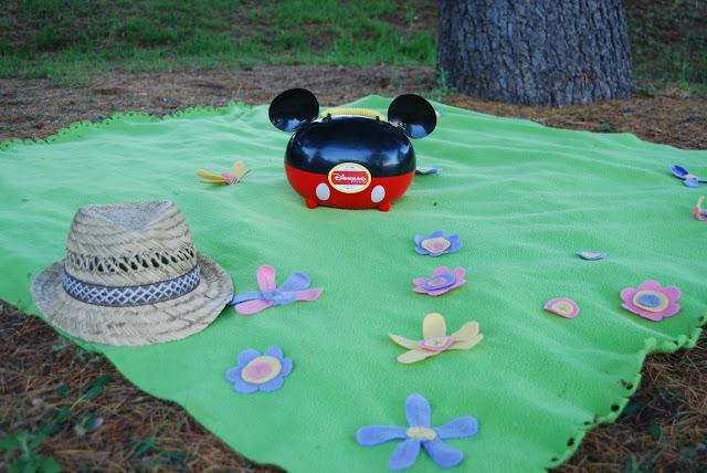 DIY Tutorial de manta de Ikea para picnic fácil.