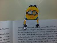 DIY Minion Bookmark