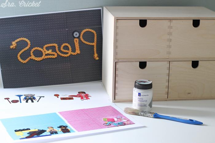 materiales para customizar caja