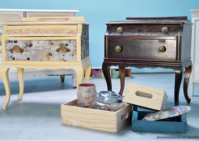 Decorar muebles vintage