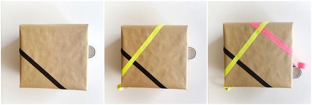 envolver muy bien una caja