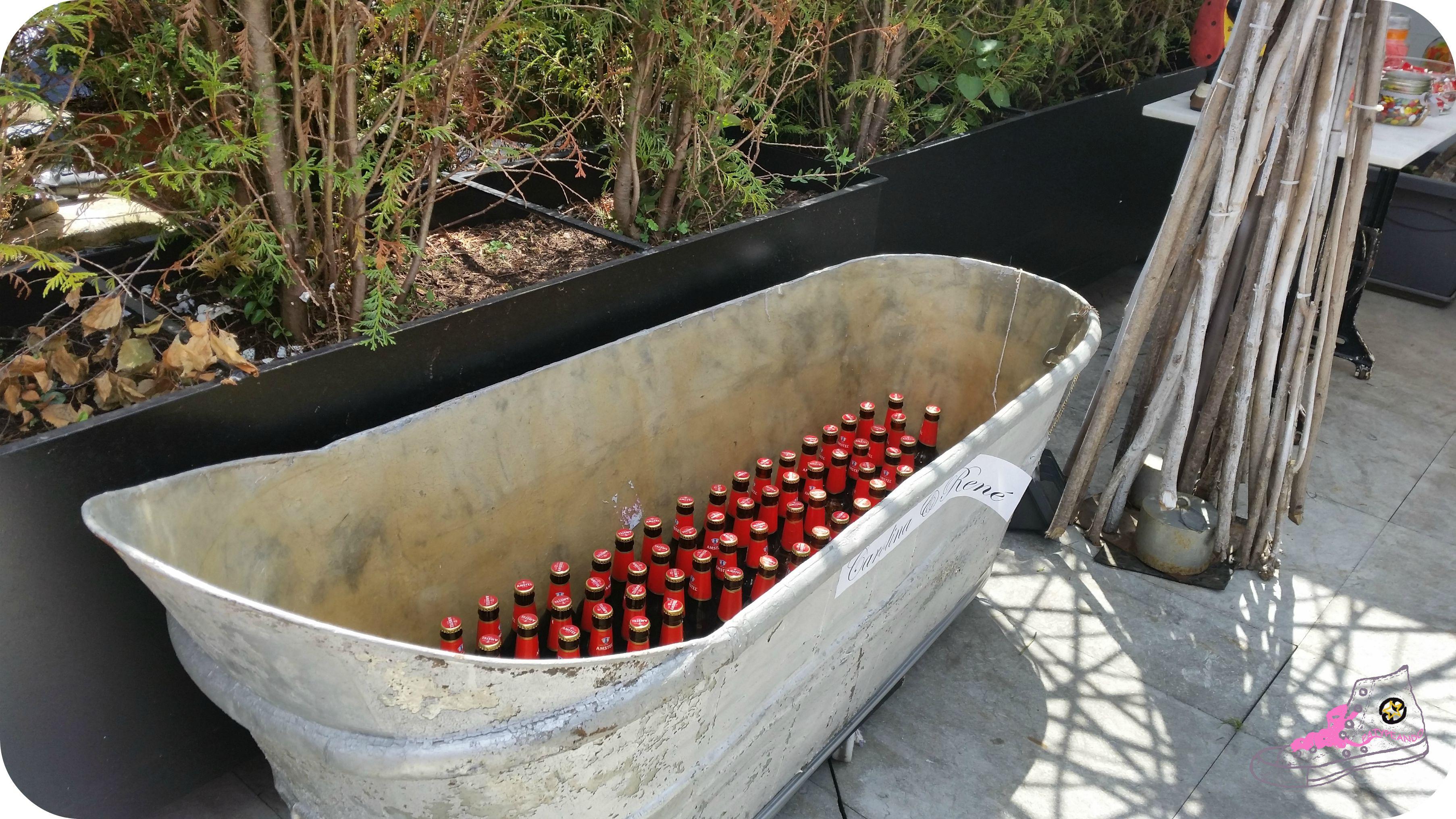 bañera de cerveza