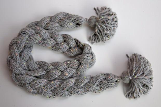10 patrones fáciles para tejer con dos agujas gorros, cuellos y bufandas.