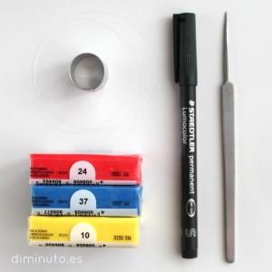 Colores. Materiales