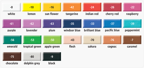 fimo soft color chart