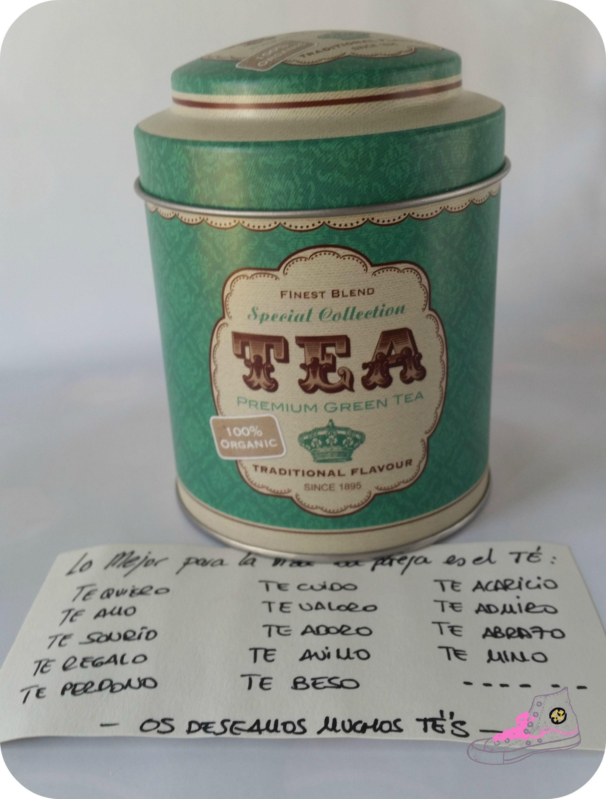 lo mejor para la vida es el té