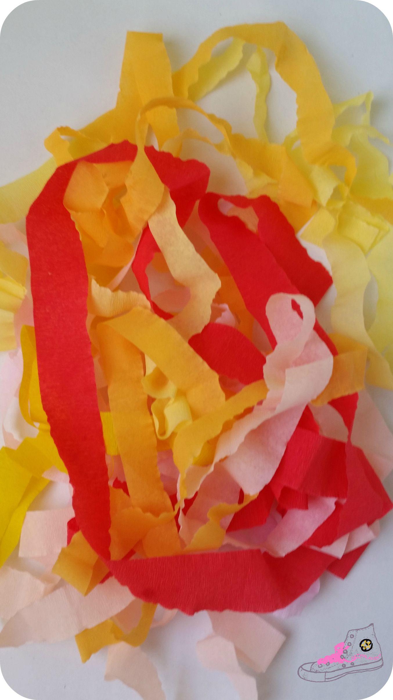 papel crepe