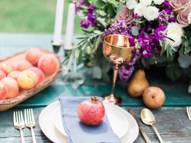 Golden Cups wedding
