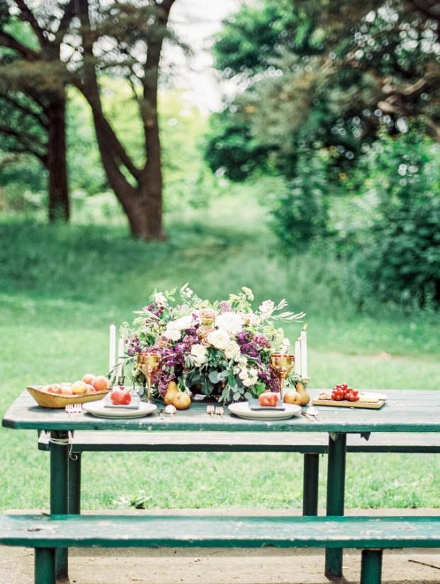 Mesa picnic boda