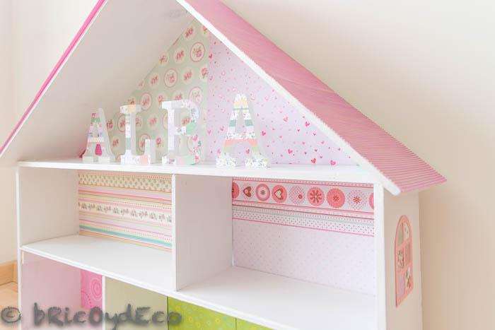 casa-de-muñecas-hecha-con-una-caja-de-madera