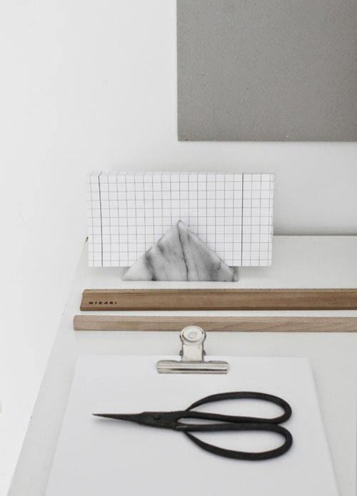 marmol escritorio