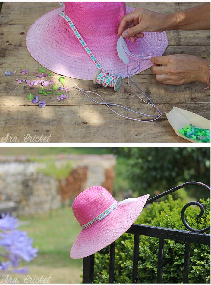 sombrero-pintado-con-spray-degradado