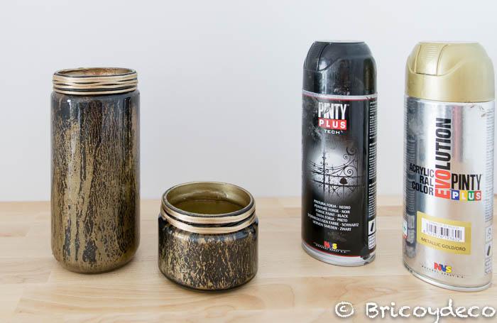 tarros-pintados-con-spray