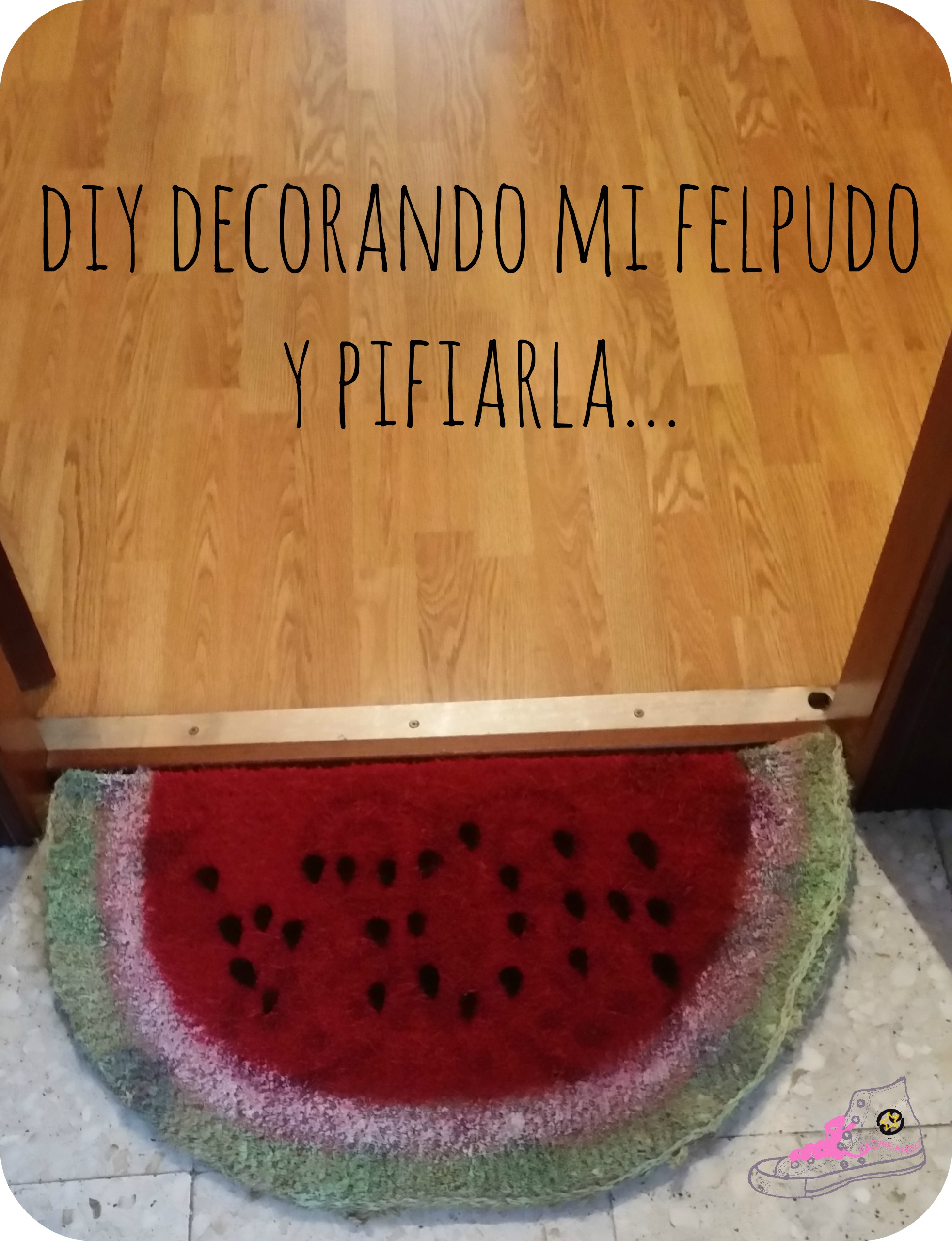 mi felpudo decorado